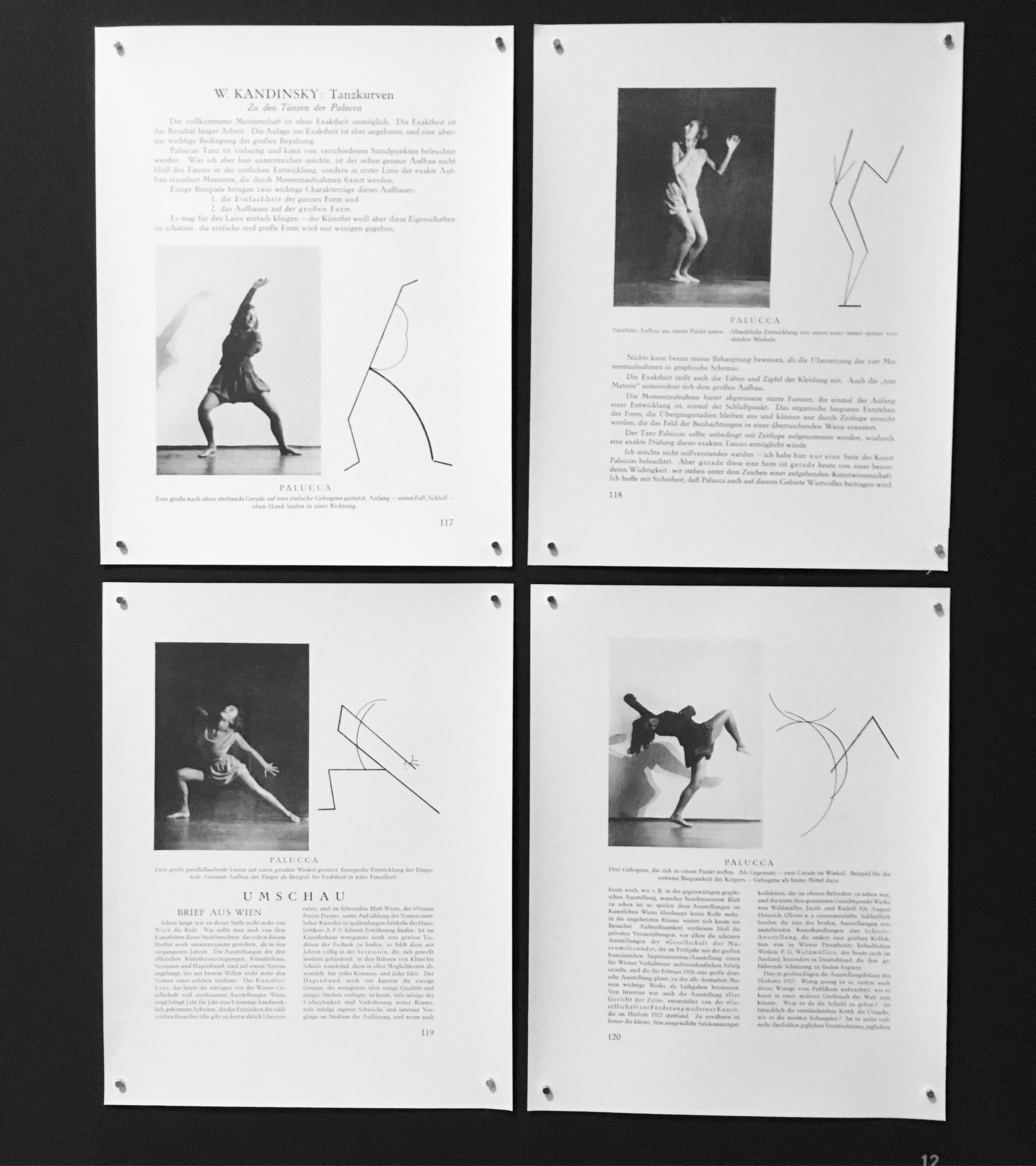 Oskar Schlemmer's work